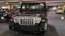 Ahead of launch, AX variant of Mahindra Thar SUV spotted