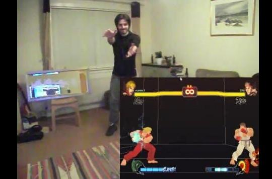 Kinect combos Street Fighter IV, fires single-fisted boomsticks at the FPS crowd (video)