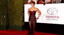 51-year-old Halle Berry wows in very revealing Reem Acra gown at NAACP Awards