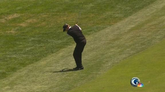 US Open: Stricker cards an eagle