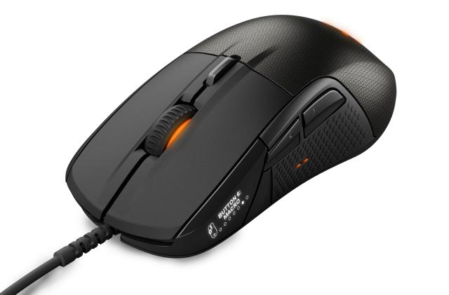 The Rival 700 is a modular gaming mouse with an OLED screen