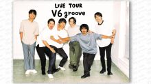 J-pop idol group V6 to hold final concert tour with live audiences