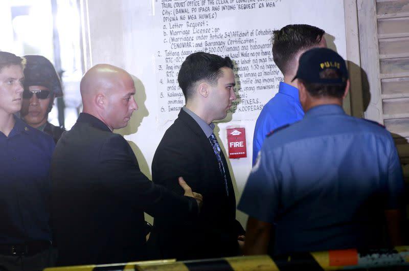 Philippines presidential spokesman links pardon of U.S. Marine to vaccine access