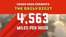 Daily Digit: This aircraft is five times faster than the speed of sound.