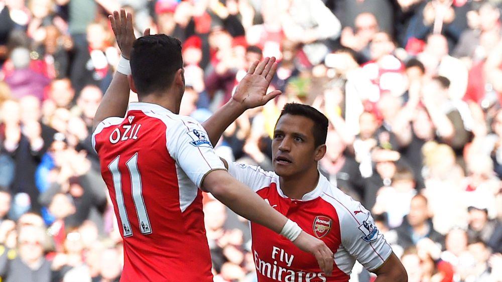 "Özil : ""Je me sens très bien à Arsenal"""
