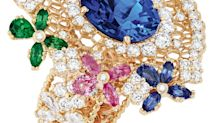 Gemstone-studded lace exposes the sensual side of high jewellery at Dior