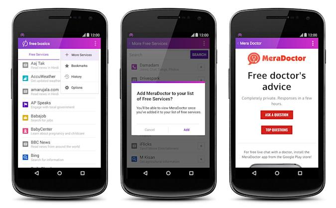 'Free Basics by Facebook' replaces Internet.org website and app