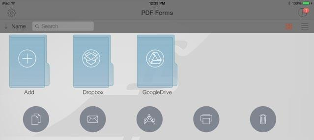 PDF forms for iOS is powerful but needs better instructions