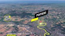 Tour de France - Tour de France 2020: le profil de 11e étape en vidéo (Châtelaillon-Plage - Poitiers, 167,5km)