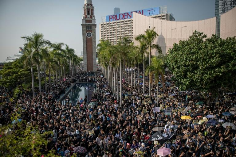 Protesters say they are determined to keep up the pressure on local authorities (AFP Photo/NICOLAS ASFOURI)