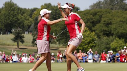 U.S. Solheim Cup lead balloons to 5 points