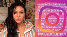 ¿Depresión postparto? Adabel Guerrero y un llamativo posteo en redes que encendió las alarmas