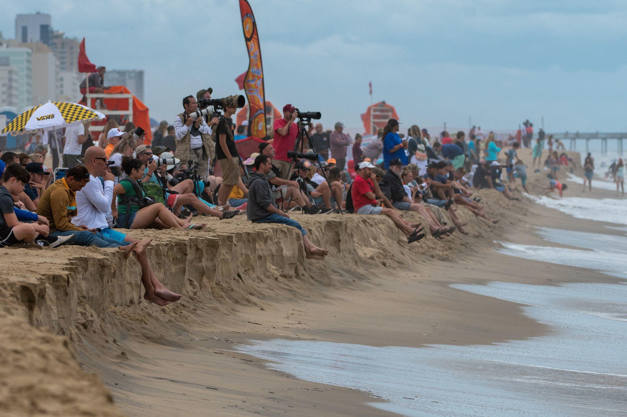 East Coast Surfing Championship will hold a scaled down competition