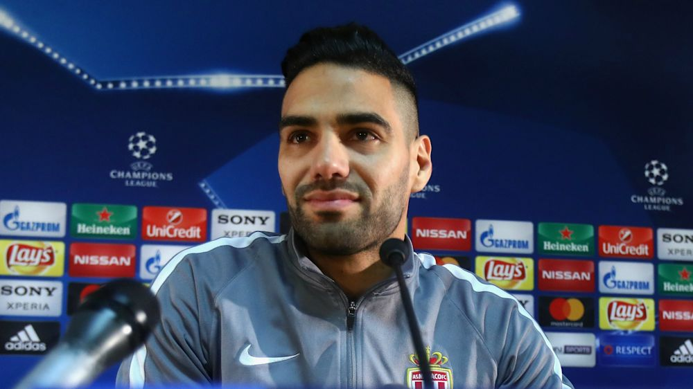 Monaco must not think they have qualified in Dortmund tie - Falcao