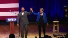 John Legend campaigns for Warren in South Carolina