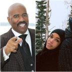 Steve Harvey on Michael B. Jordan Dating His Daughter: 'I Got My Eye on Him'