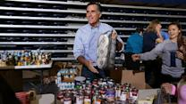 "Romney holds Sandy ""disaster relief event"""
