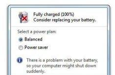 Microsoft says Windows 7 battery 'issue' isn't one