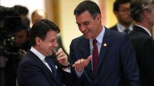 Sánchez apuesta por un pacto con Italia en la UE para superar la crisis por la pandemia