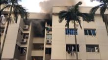 Man rescued from window ledge after fire breaks out at Bedok Reservoir Rd flat