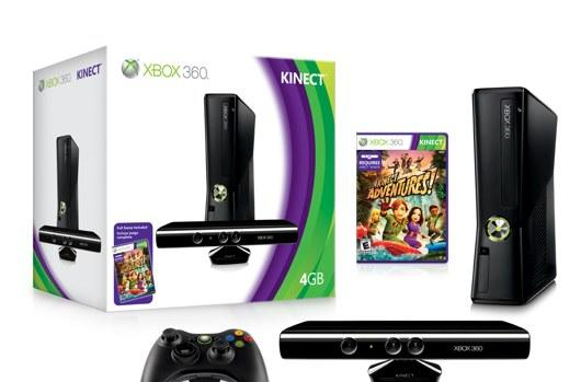 Kinect bundled with slim 4GB Xbox 360 Arcade for $300, new console for $200 in August