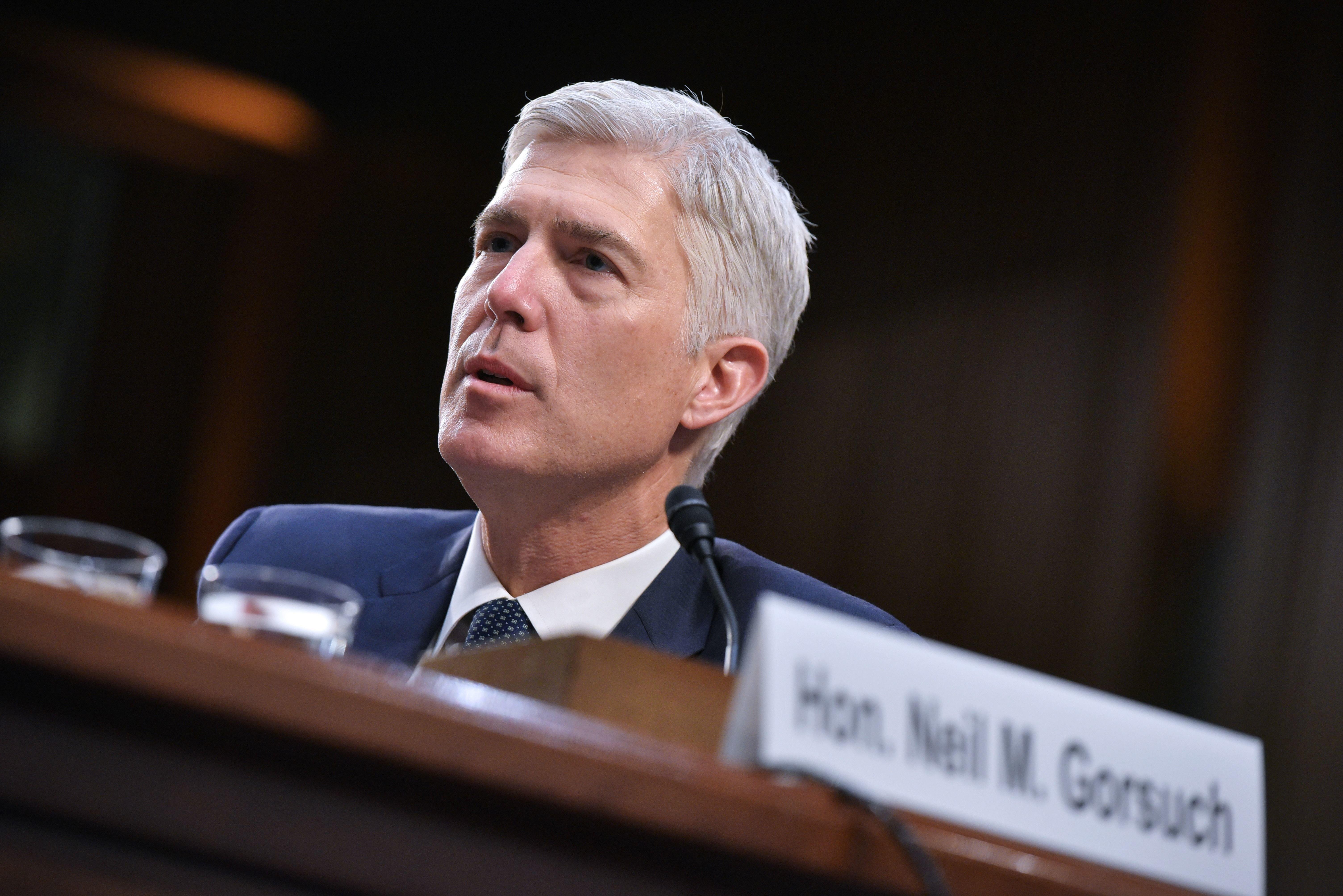 Neil Gorsuch Shows His Hand On Money In Politics As Court Turns Down Big Case