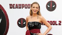Blake Lively Wore a   Deadpool -Inspired Manicure to Accompany Husband Ryan Reynolds to His Movie Premiere