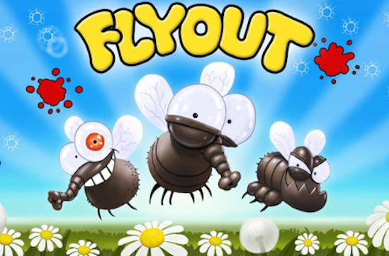 Take revenge on infuriating flies with FlyOut for iOS