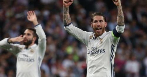 Foot - C1 - Real - Sergio Ramos souligne le succès collectif du Real Madrid contre l'Atlético