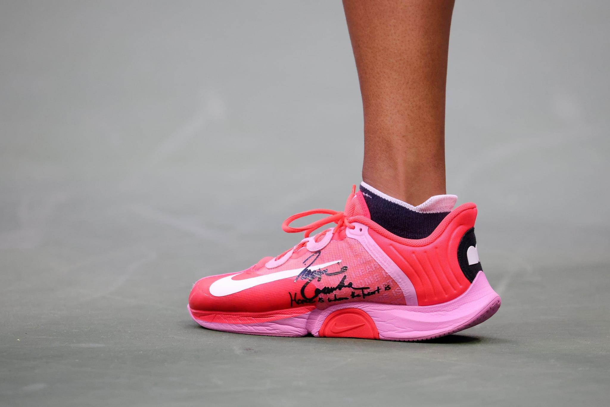 Naomi Osaka Sent A Moving Message With Her Us Open Sneakers Home Is Where The Heart Is