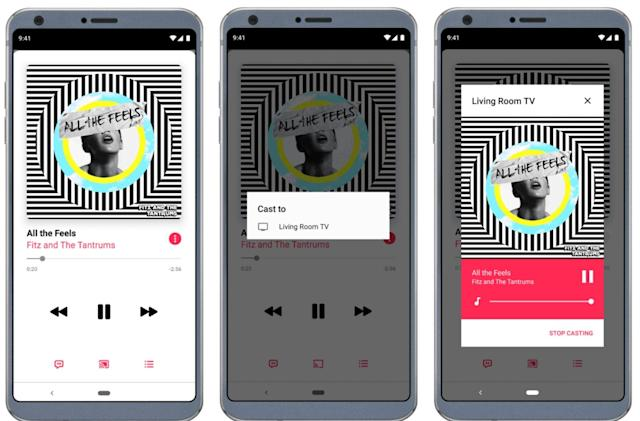 Apple Music for Android finally works with Chromecast