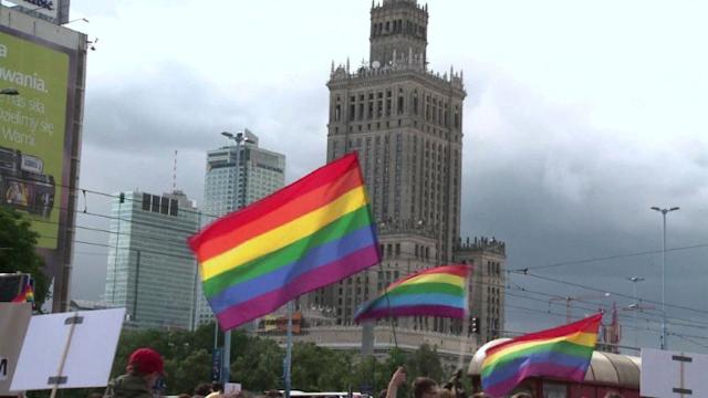 Homosexual Poles hopeful for change