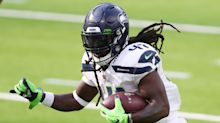 Seattle Seahawks re-sign running back Alex Collins