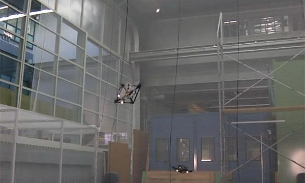 Quadrocopters juggle balls cooperatively, mesmerize with their lethal accuracy (video)