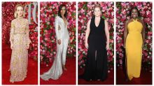 Amy Schumer leads best dressed at Tony Awards