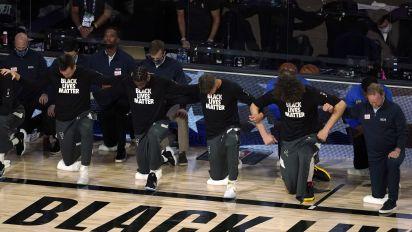 Agent rips NBA embracing Black Lives Matter