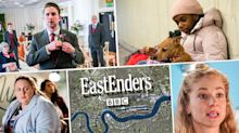 Next week on 'EastEnders': Ben flees from his wedding to Callum, plus passion for Sharon and Kheerat (spoilers)