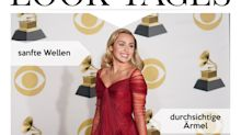Look des Tages: Miley Cyrus verzaubert in rubinrotem Tüllkleid