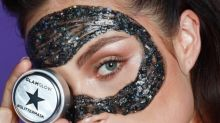 Glitter face masks are coming