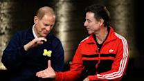 Michigan, Louisville play for title