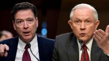 Sessions contradicts Comey, says he was not silent about FBI director's Trump concerns