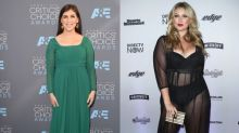 Curvy Model Hunter McGrady Talks Body Image in Hollywood With Mayim Bialik
