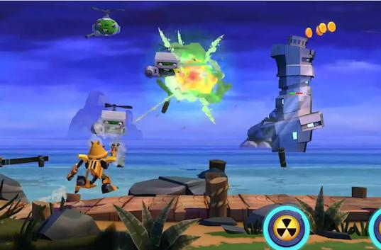 Angry Birds Transformers' trailer is ridiculous and features Astrotrain