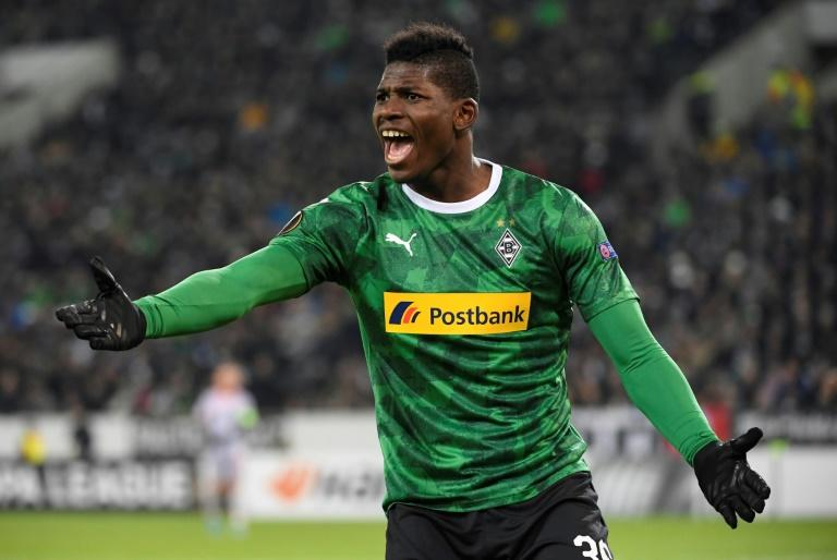 Swiss forward Breel Embolo has rebooted his career at Moenchengladbach (AFP Photo/Ina Fassbender)