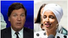 Ilhan Omar Calls Tucker Carlson 'Racist Fool' After He Claimed She Hated America