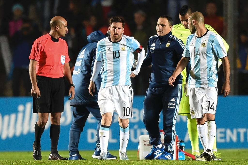Messi feeling better after injury scare - doctor