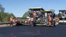 The world's first 'fully recycled' road is made in France
