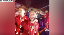 James Milner calls Manchester United 'f****** w******' during Liverpool Premier League trophy celebrations