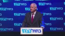 Netanyahu's rival Gantz says it appears PM lost