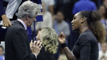 Petition asks for reversal of Serena's fine